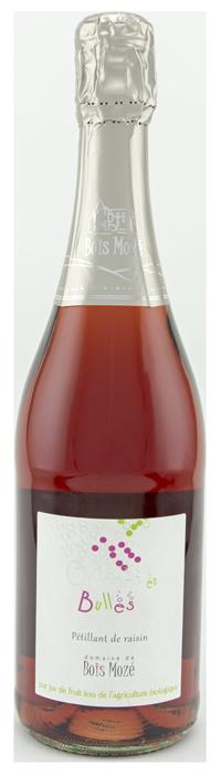 Bouteille de pétillant de rosé - Bois Mozé