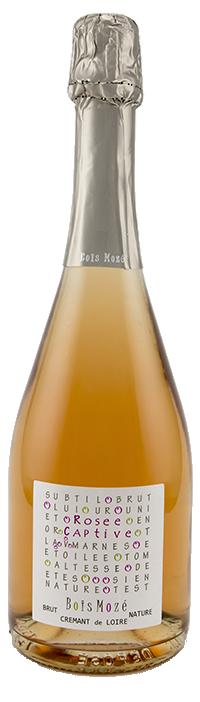 Rosée Captive, le crémant de Loire rosé de Bois Mozé