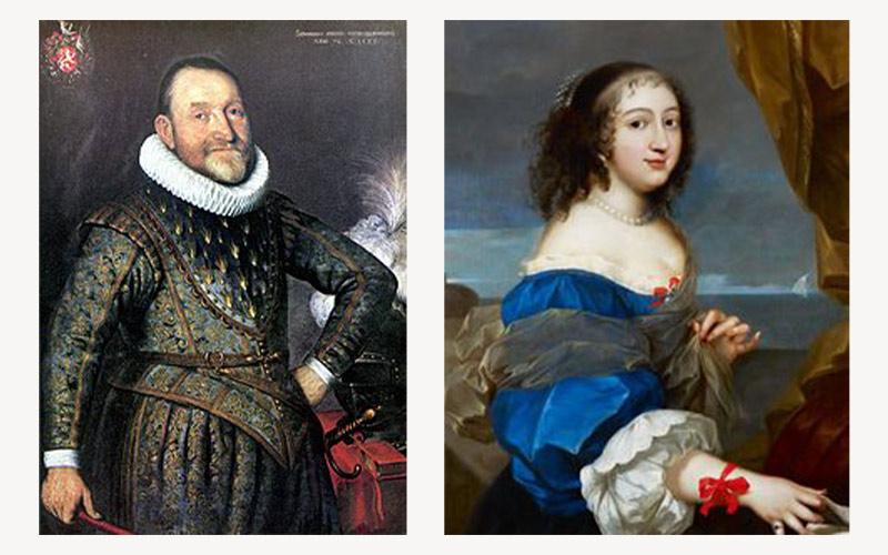 Agrippa d'Aubigné et Madame de Maintenon