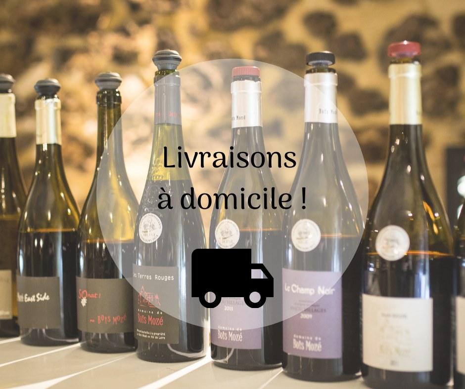 Livraison gratuite des vins du domaine