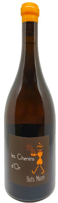 Chenins d'or, le vin orange bio de Bois Mozé
